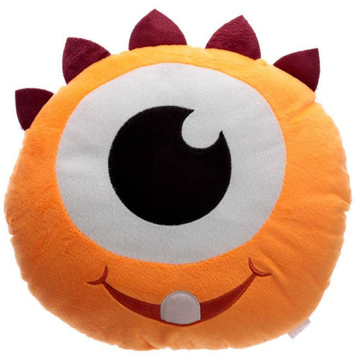 Fun Orange Plush Monstarz Monster Cushion - Simply Utopia
