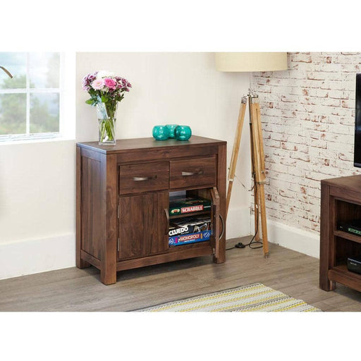 Mayan Walnut Small Sideboard - Simply Utopia
