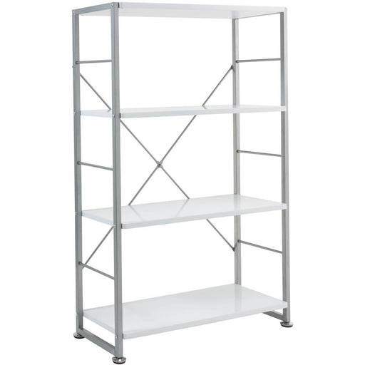 Cabrini Bookcase 4 Shelves Storage Unit - Simply Utopia