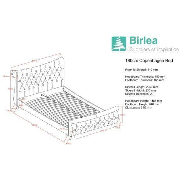 Copenhagen Bed - Simply Utopia