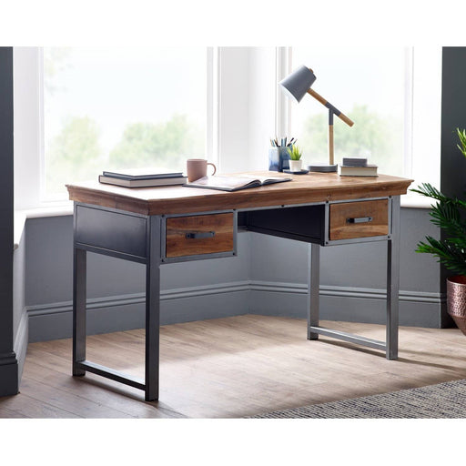 Metropolis 2 Drawer Writing Desk - Simply Utopia