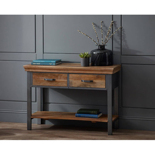 Metropolis 2 Drawer Console Table - Simply Utopia