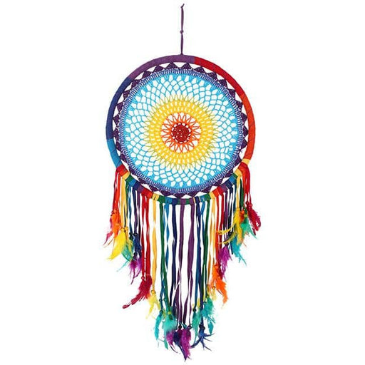 Multicolour Feather Dreamcatcher - Simply Utopia