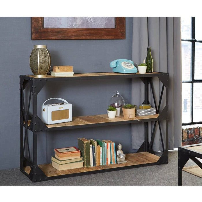 Ascot Console Table/Tv Stand/Low Bookcase - Simply Utopia