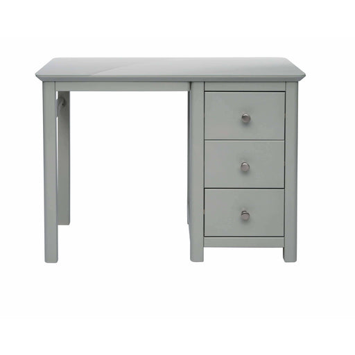 Elgin single pedestal dressing table - Simply Utopia