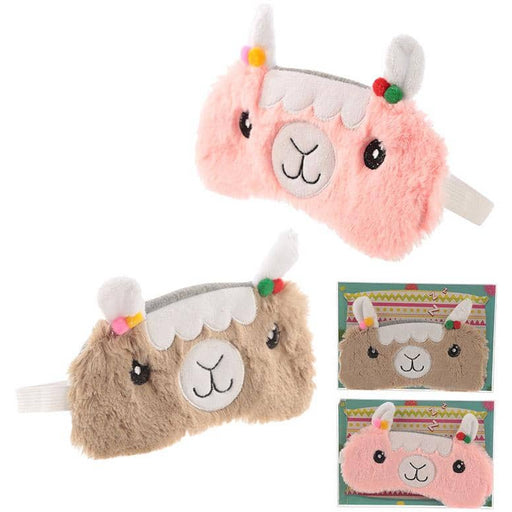 Fun Eye Mask - Plush Llama Design - Simply Utopia