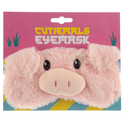 Fun Eye Mask - Plush Cutiemals Pig - Simply Utopia