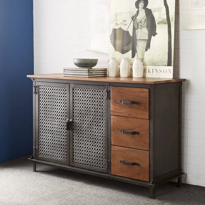 EVOKE 3 DRAWER SIDEBOARD - Simply Utopia