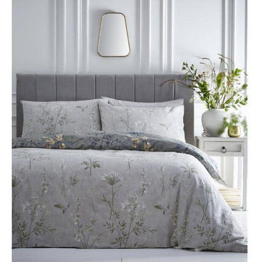 Moss Green Florette Duvet Set - Simply Utopia