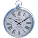 Silver Wall Clock - Simply Utopia