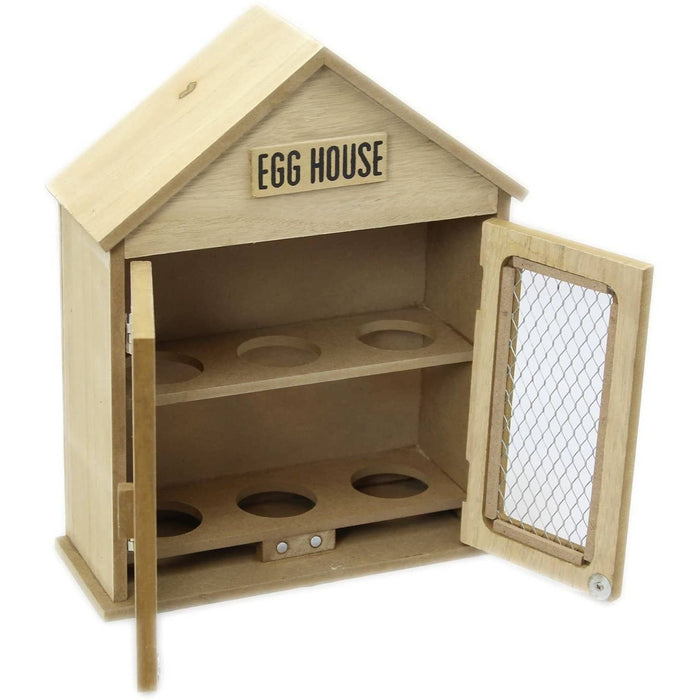 Wooden Two Door Egg House - Simply Utopia