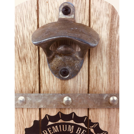 Wall Hanging Brewery Barrel Bottle Opener - Simply Utopia