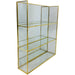 Gold Mirror Shelf Unit 28cm - Simply Utopia