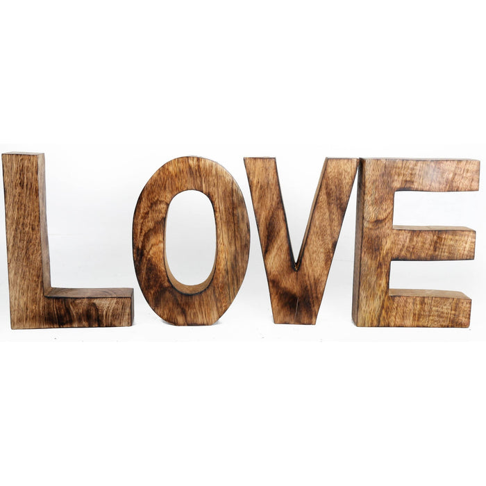 LOVE Wooden Letters Sign - Simply Utopia