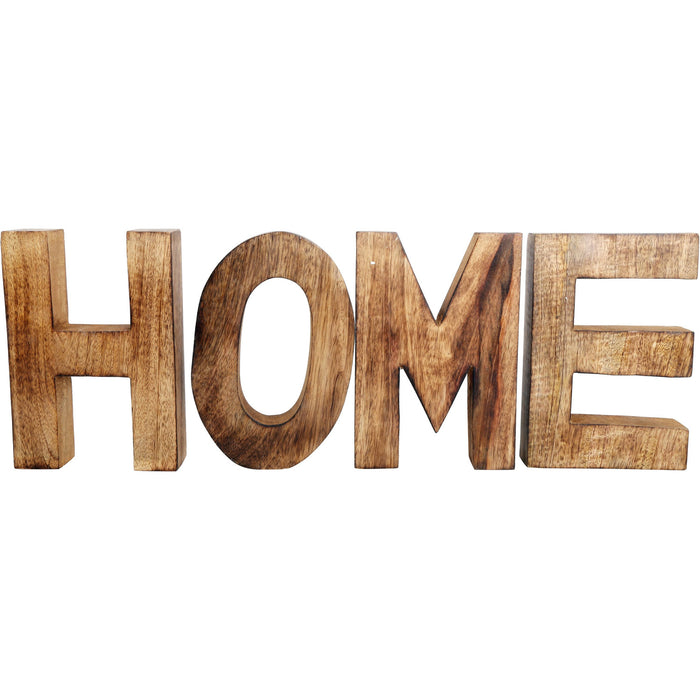 HOME Wooden Letters Sign - Simply Utopia