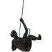 Abseiling Man Looking Up Ornament Black - Simply Utopia