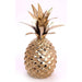 Gold Metal Pineapple Ornament 22cm - Simply Utopia