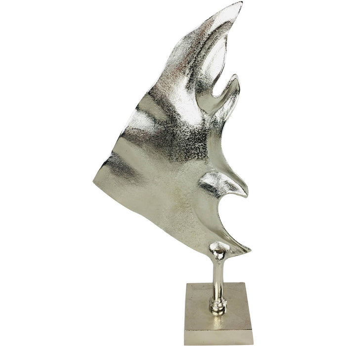 Large Silver Fish Decoration 50cm - Simply Utopia