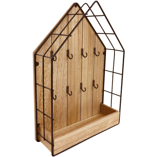 Wood & Wire House Key Storage Unit - Simply Utopia