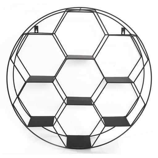 Hexagon Cut Wall Shelf 67cm - Simply Utopia