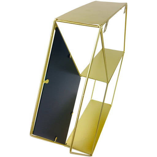 Hexagon Golden Mirror Unit - Simply Utopia