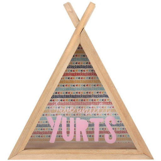 Save Until It Yurts Teepee Money Box - Simply Utopia