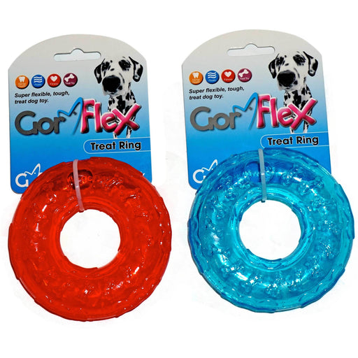 Gor Flex Treat Ring (10cm) Blue/Red - Simply Utopia