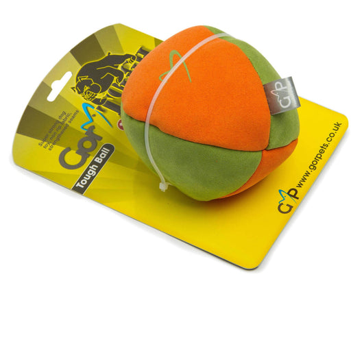 Gor Tough Ball (13cm) Orange/Green Mix - Simply Utopia