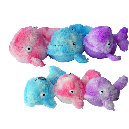 Gor Reef Baby Whale (28cm) Blue/Purple/Pink - Simply Utopia
