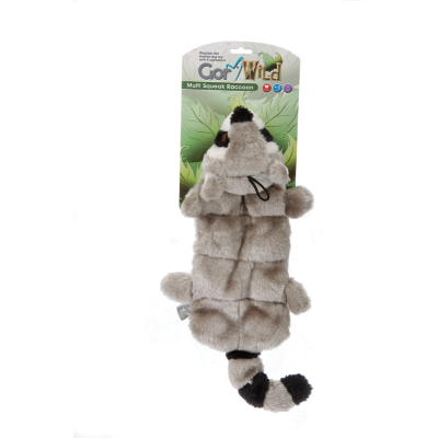 Gor Wild Multi-squeak Raccoon (30cm) - Simply Utopia