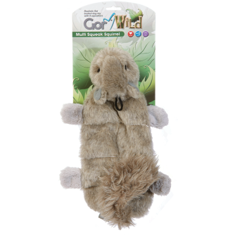 Gor Wild Multi-squeak Squirrel (30cm) - Simply Utopia