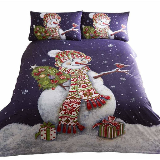 Happy Snowman Duvet Set - Simply Utopia
