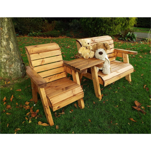 Kids Bench & Chair w/Straight Tray - Simply Utopia