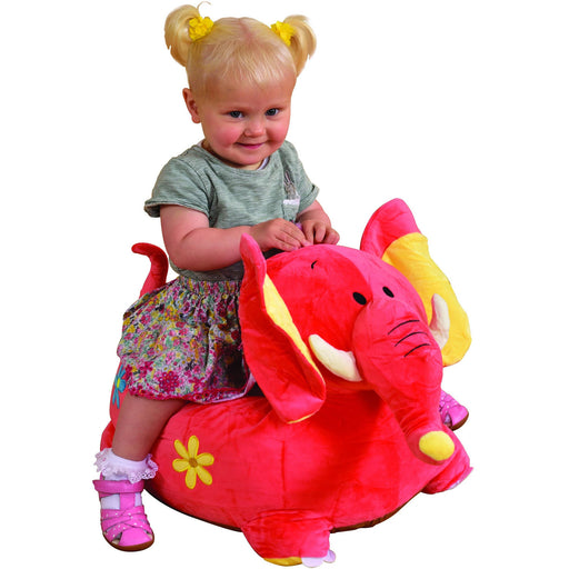 Plush Elephant Sofa Riding Chair (Pink) - Simply Utopia