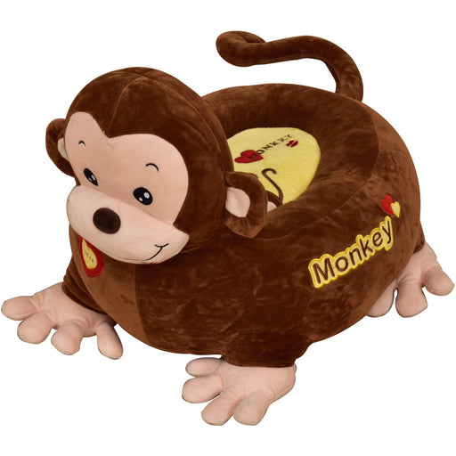Plush Monkey Sofa Riding Chair (Brown) - Simply Utopia