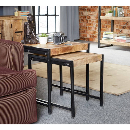 COSMO INDUSTRIAL NEST OF 2 TABLES - Simply Utopia