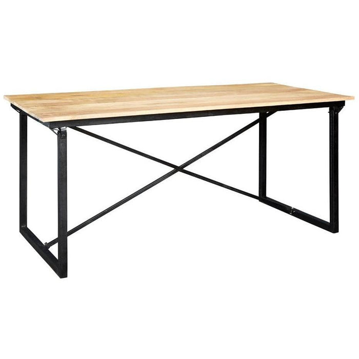Cosmo Industrial Dining Table - Simply Utopia