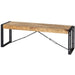 Cosmo Industrial Metal & Wood Bench - Simply Utopia