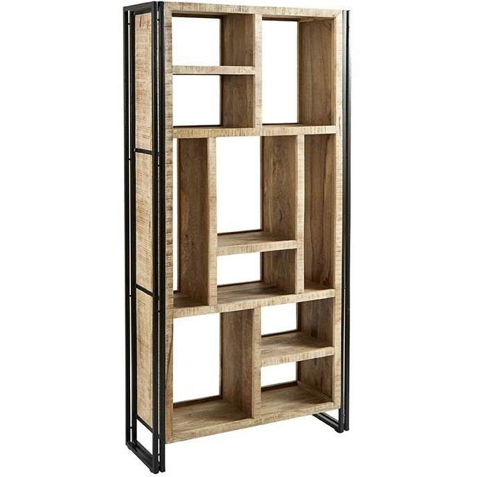Cosmo Industrial Multi Shelf Bookcase - Simply Utopia
