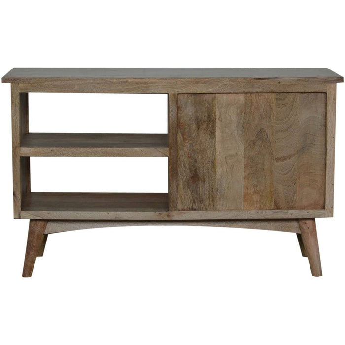 Nordic Style Media Unit with 3 Drawers and 2 Shelves - Simply Utopia