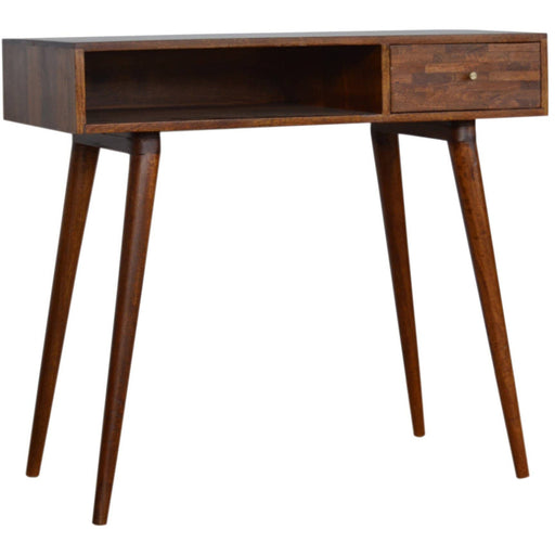 Mixed Chestnut Writing Desk - Simply Utopia