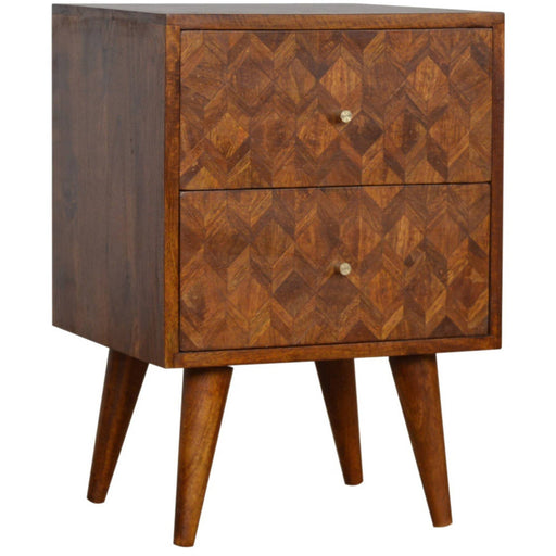 Assorted Chestnut Bedside - Simply Utopia
