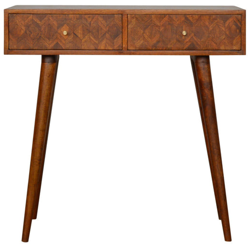 Assorted Chestnut Console Table - Simply Utopia