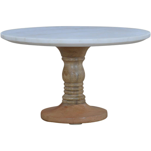 Cake Stand With Marble Top - Simply Utopia