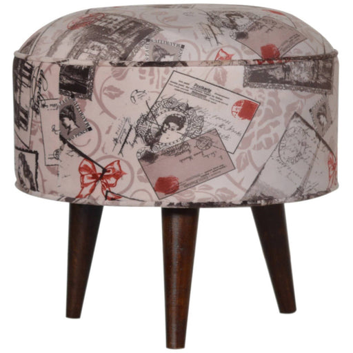 Postcard Footstool - Simply Utopia