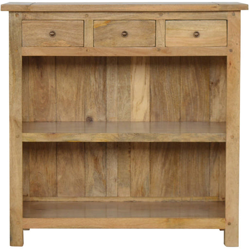 Low Bookcase with 3 Drawers - Simply Utopia