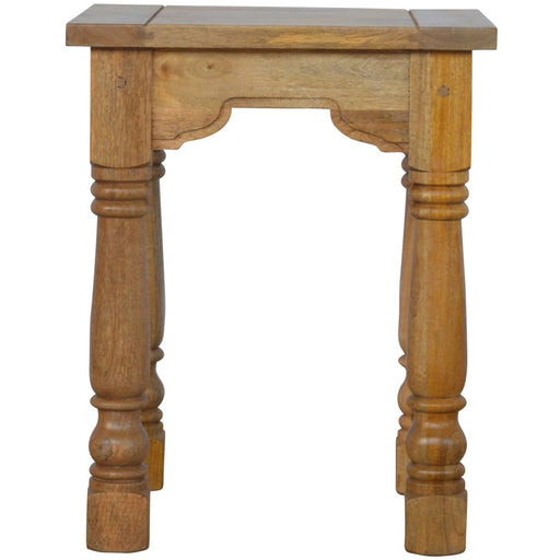 Country Style Petite End Table - Simply Utopia