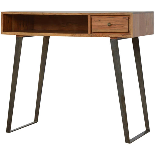 1 Drawer Chestnut Writing Desk - Simply Utopia