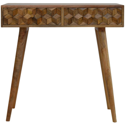 Tile Carving Console Table - Simply Utopia