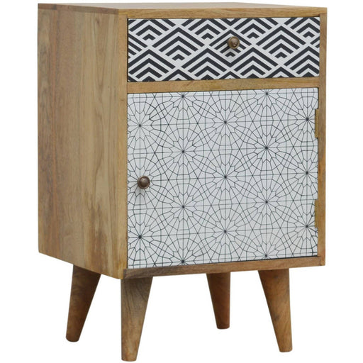 Mixed Pattern Bedside - Simply Utopia